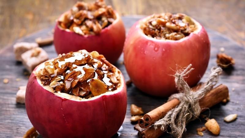 Gesunder Nachtisch - Bratapfel für den süßen Zahn