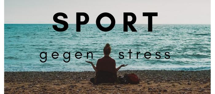 Sport gegen Depression und Stress