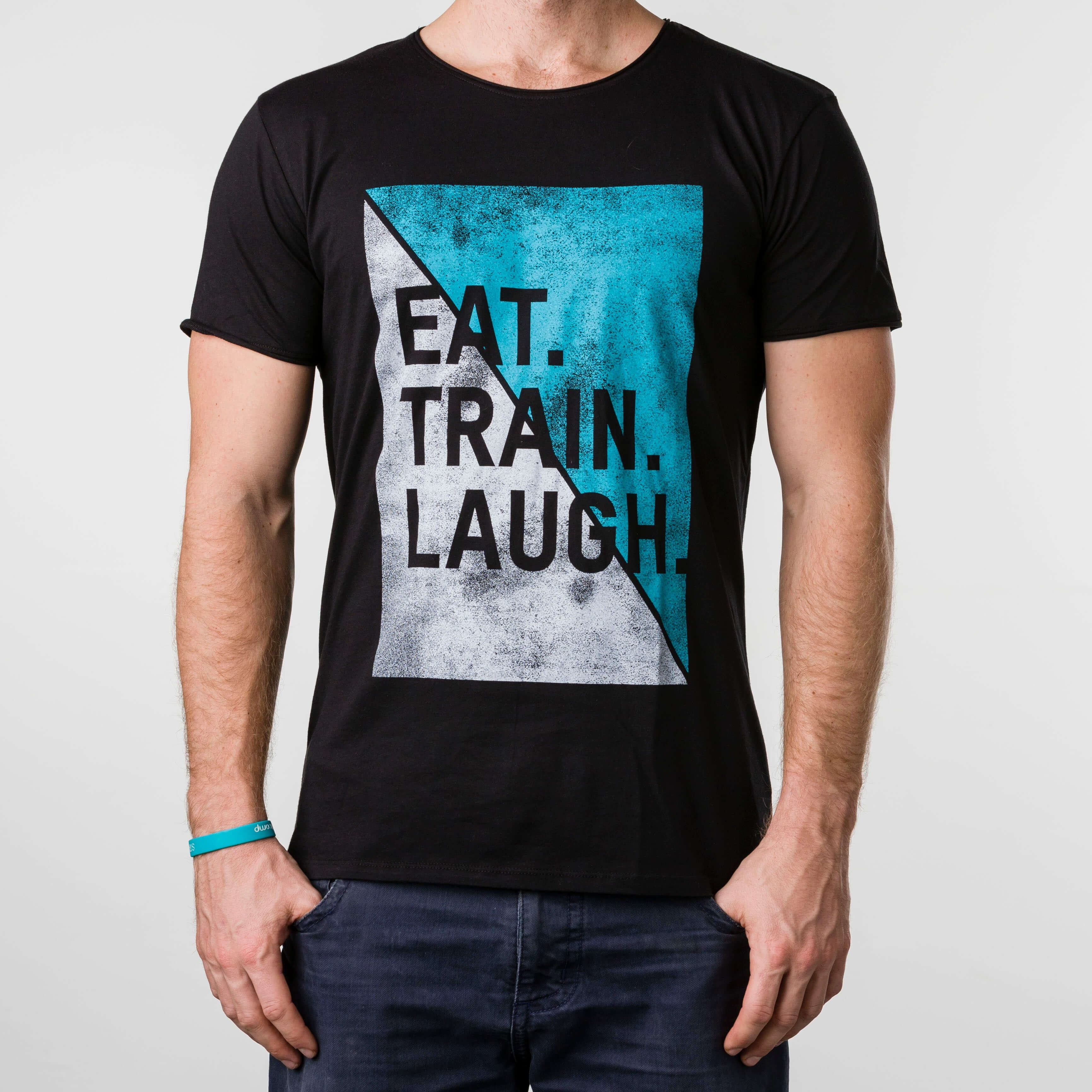 Eat, Train, Laugh Shirt (Männer)
