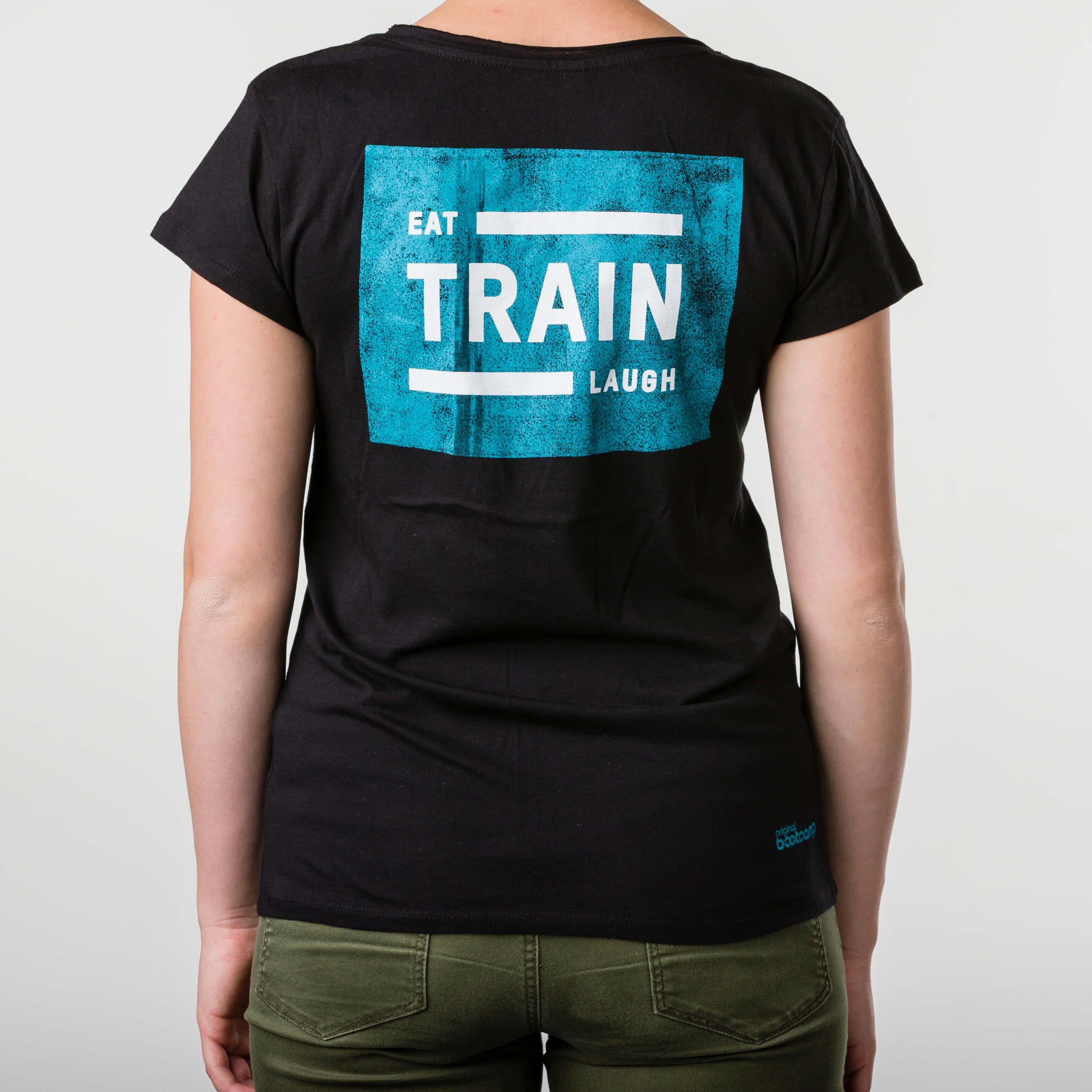 Eat, Train, Laugh Shirt (Frauen)