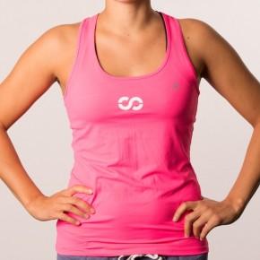 Funktionsshirt Tank Top Pink (Frauen)